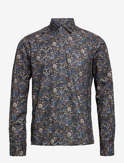 8697 - State NC 2 - hørskjorter - medium blue