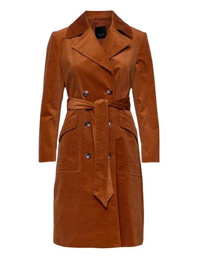 3394 - Adda - trenchcoats - orange
