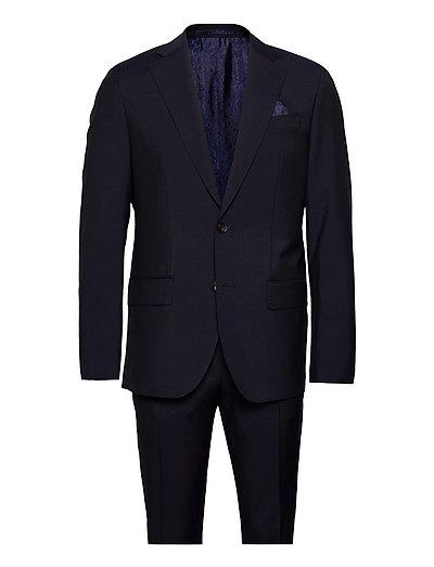 Mohair - Star Napoli-Craig Normal - kostuums met enkele rij knopen - dark blue/navy