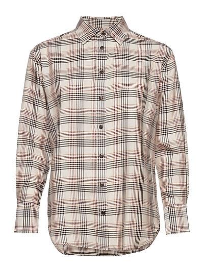 3413 - Nube - langærmede skjorter - off white