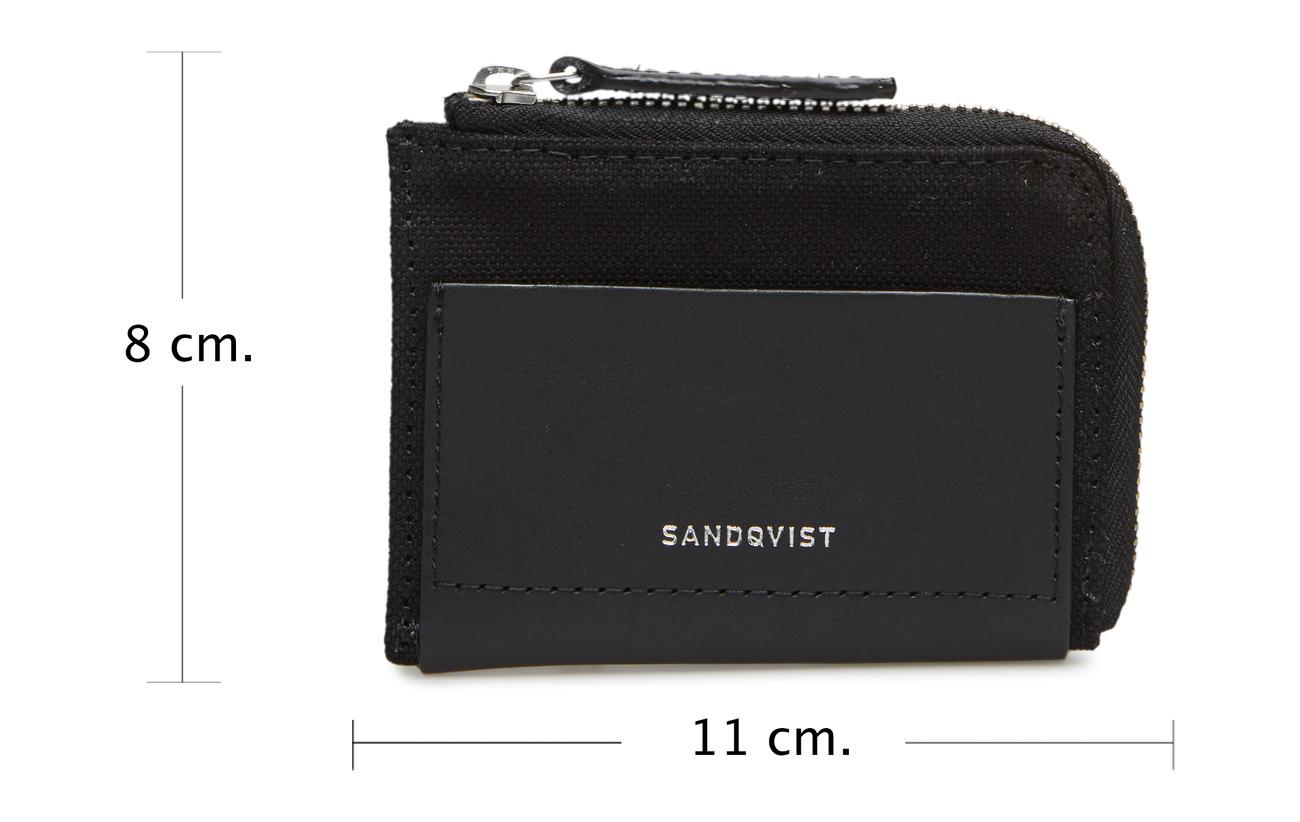 Coton Bio With Buffalo Doublure Cuir Détails Black Sandqvist Intérieure Leather 100 Elof Équipement fSSPqgv