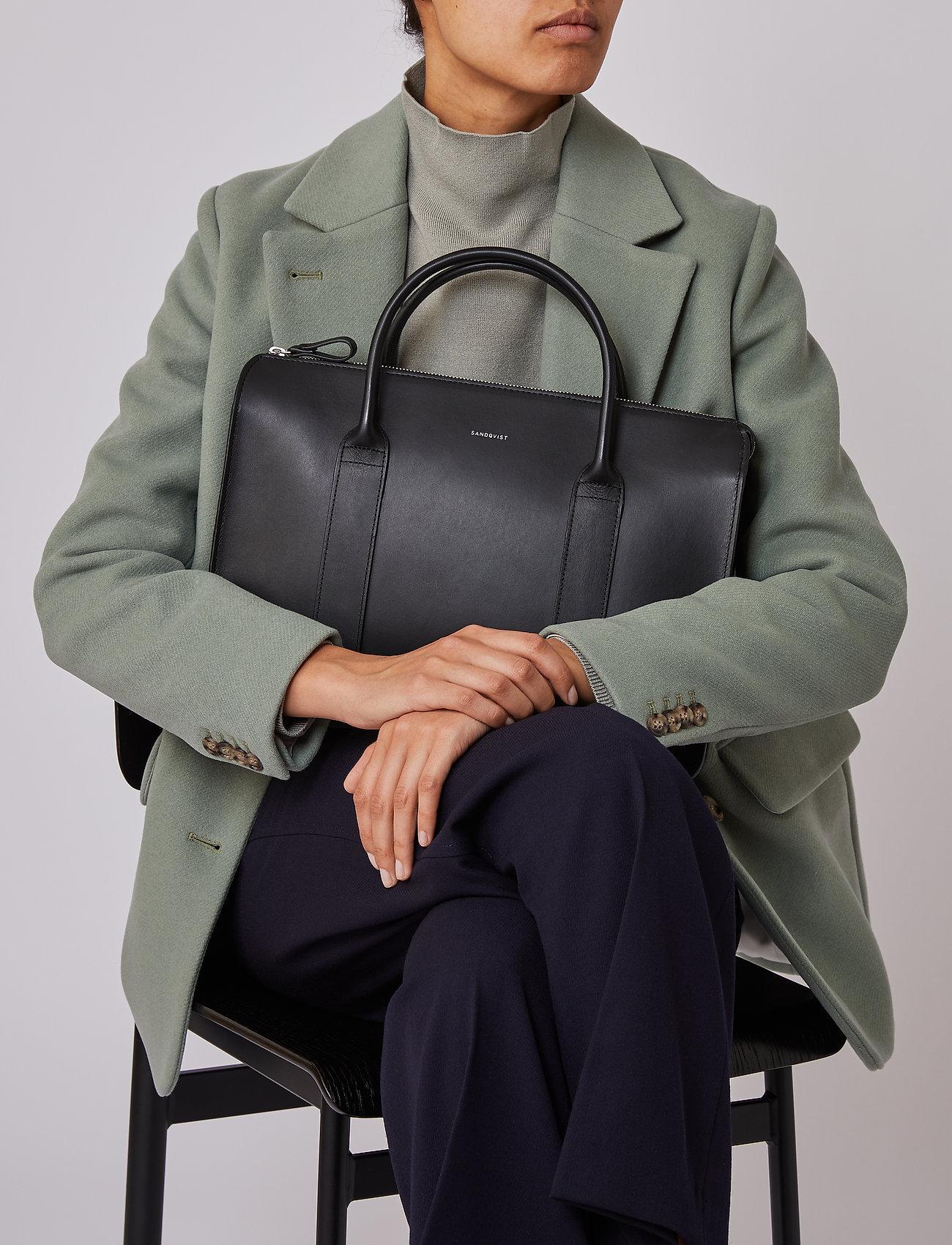 SANDQVIST - ALICE - laptop-väskor - black - 0