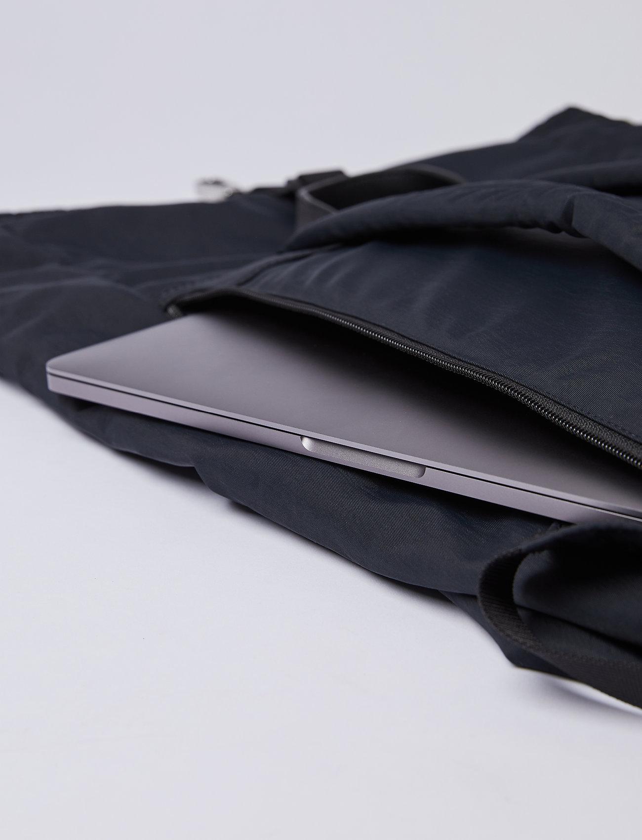 SANDQVIST - SIV - nieuwe mode - black with black leather - 7