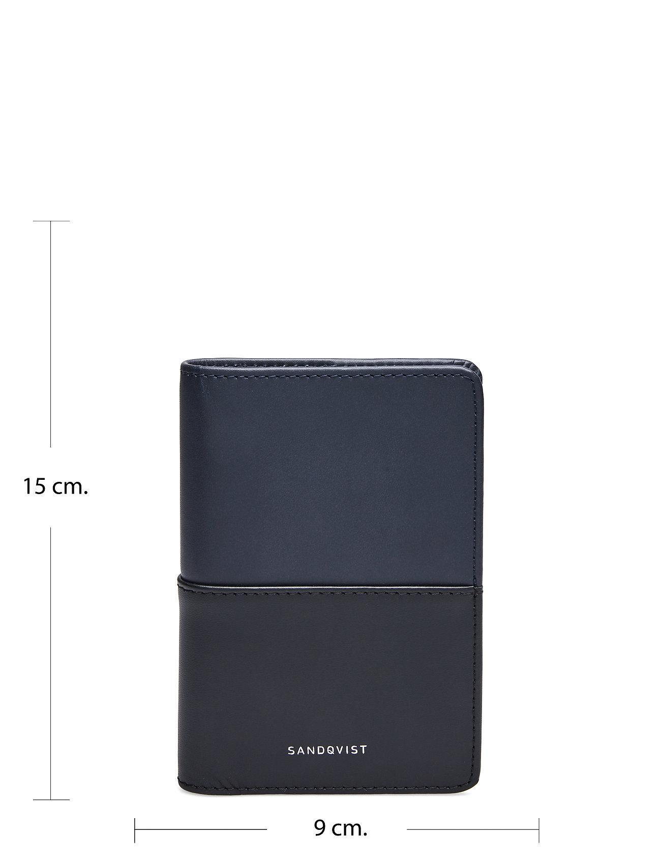 SANDQVIST - MALTE - wallets & cases - navy / black - 5