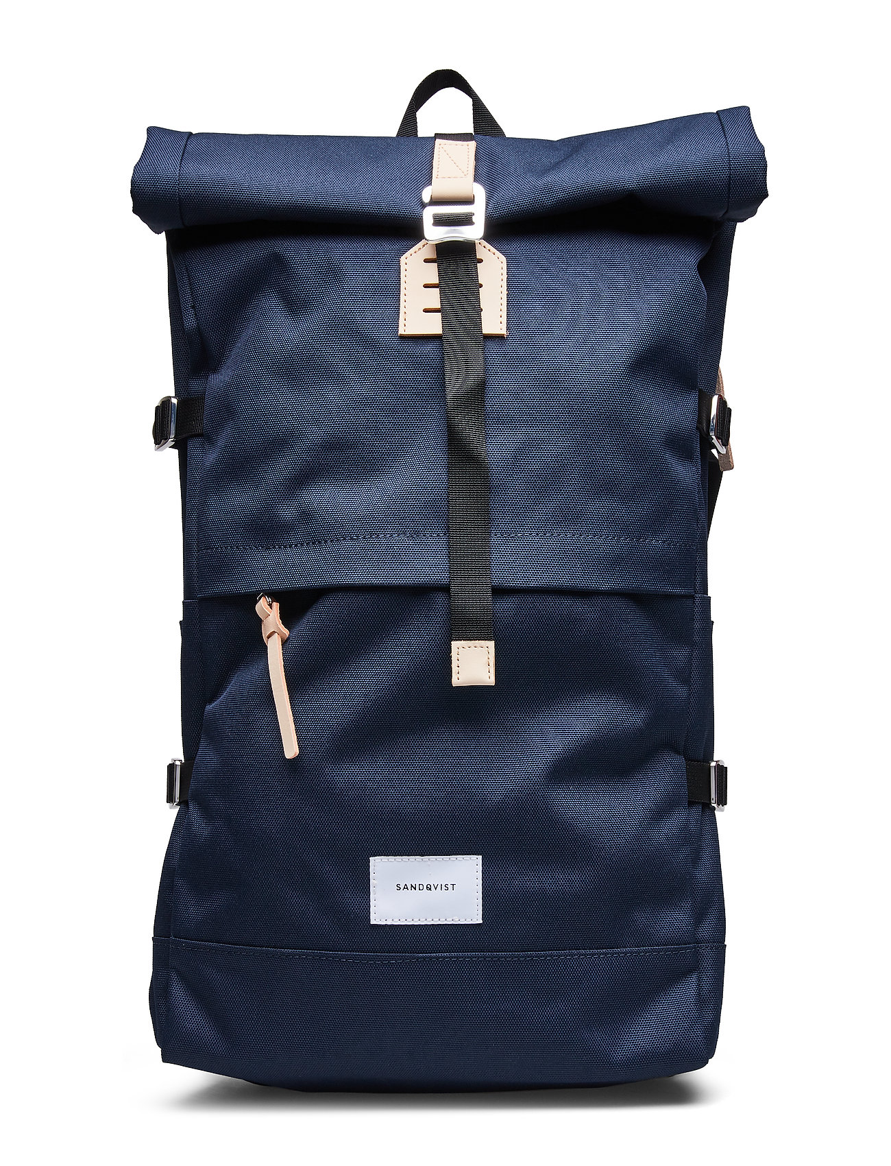 SANDQVIST BERNT - NAVY WITH NATURAL LEATHER