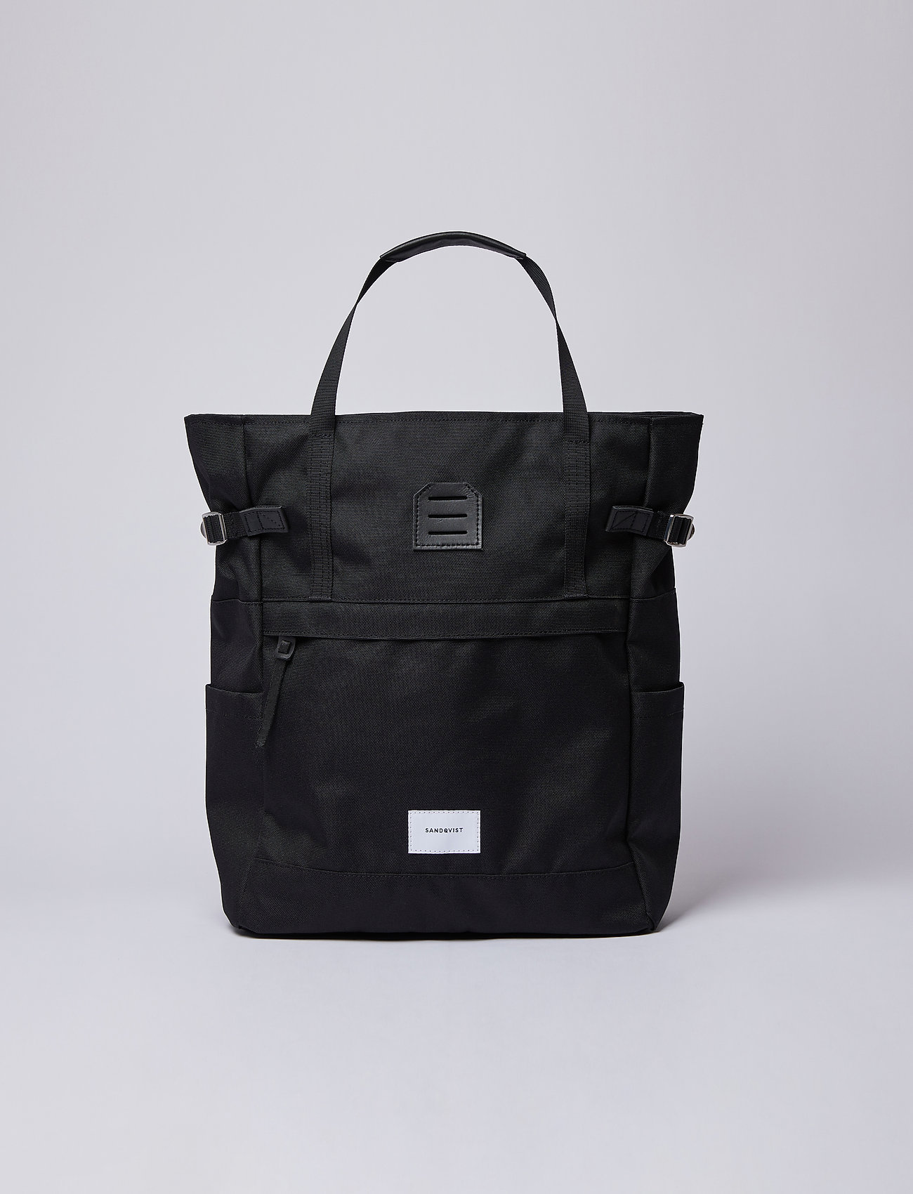 SANDQVIST - ROGER - nieuwe mode - black with black leather - 0