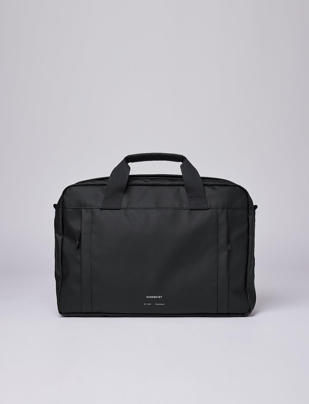 SANDQVIST - DAL - laptop bags - black - 0