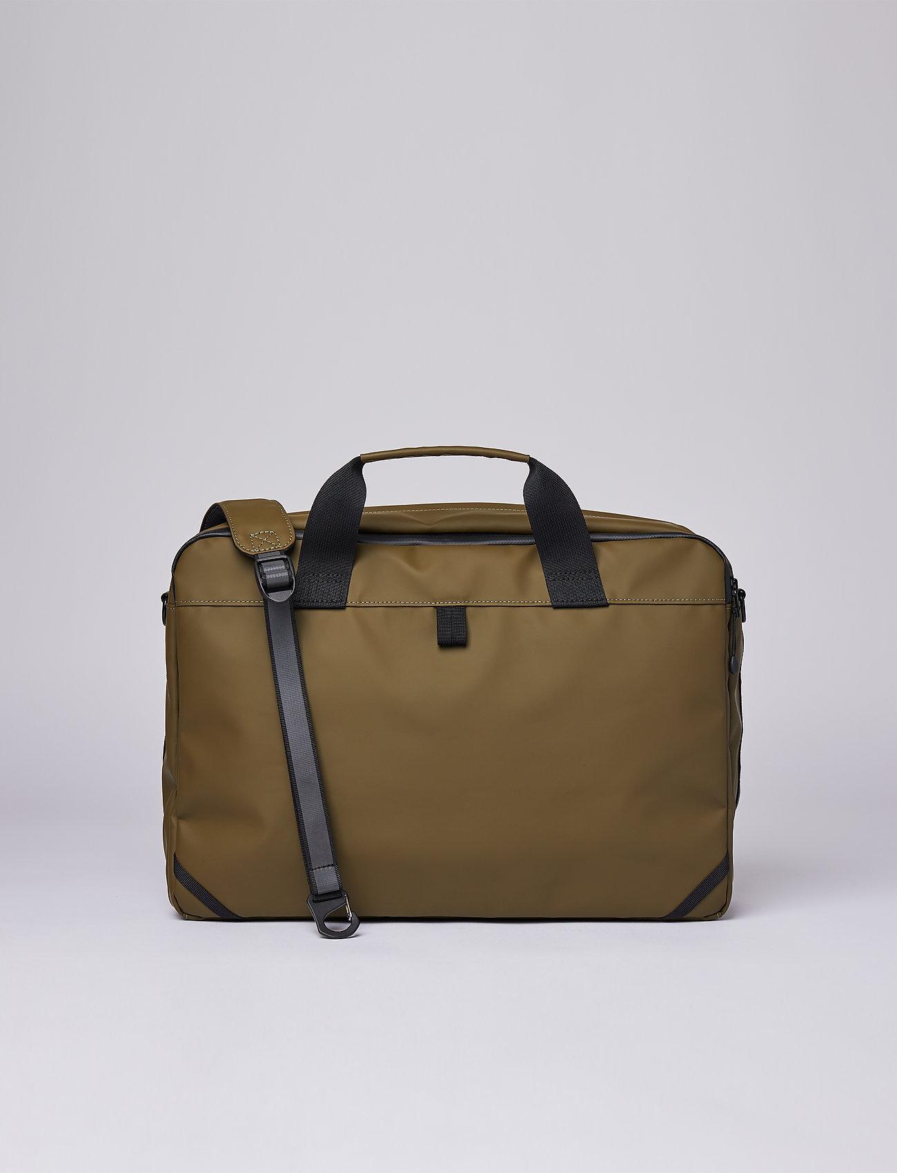 SANDQVIST - DAL - laptop-väskor - olive - 5
