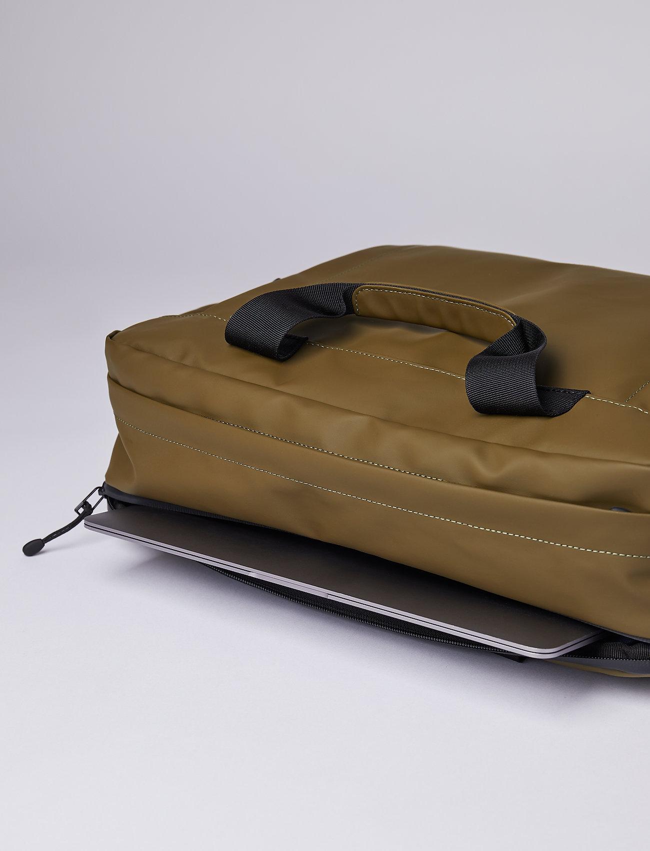 SANDQVIST - DAL - laptop-väskor - olive - 7