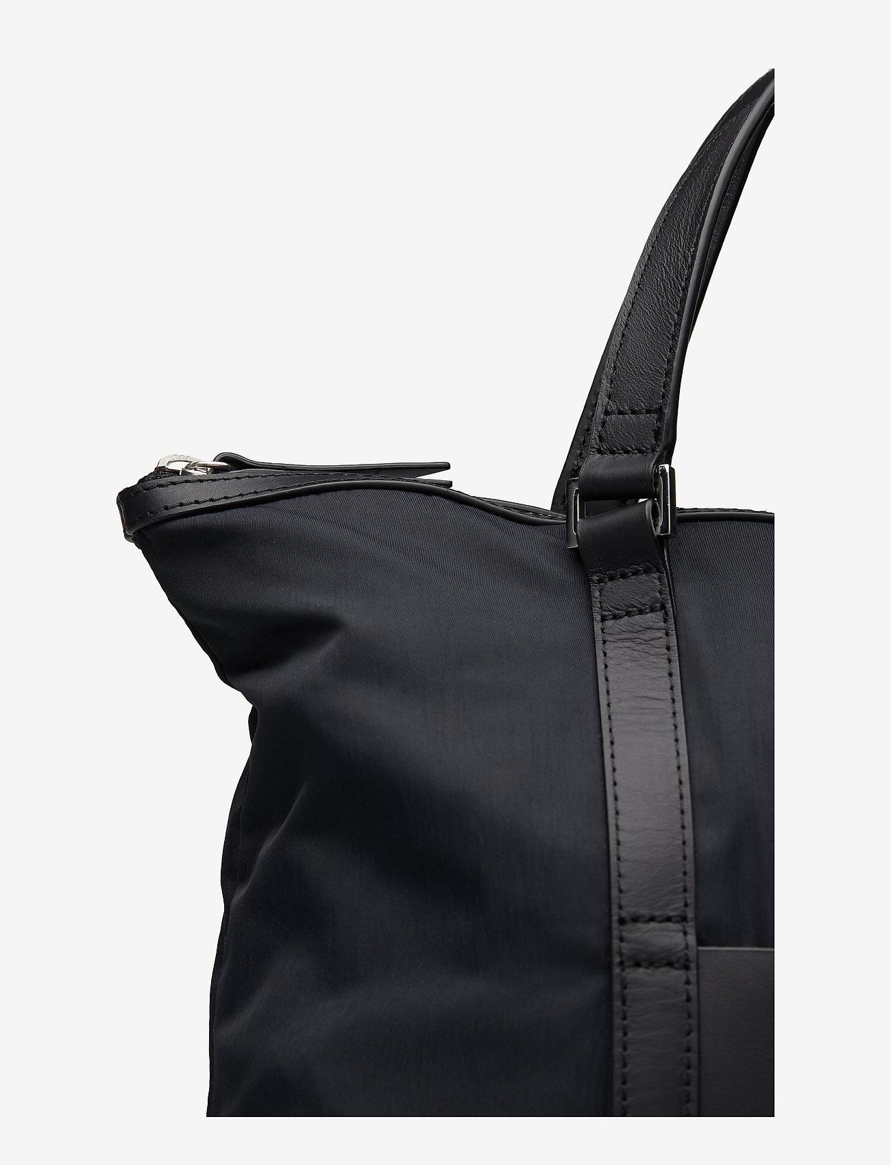 SANDQVIST - MARTA - nieuwe mode - black with black leather - 4