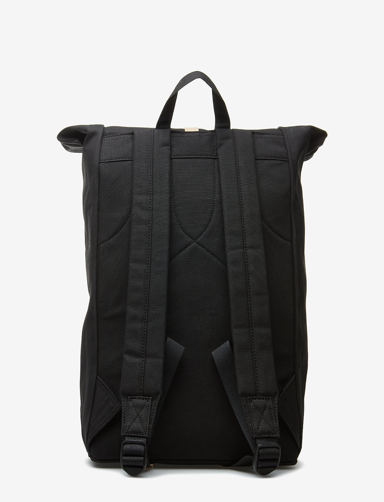 SANDQVIST - DANTE - backpacks - black with natural leather