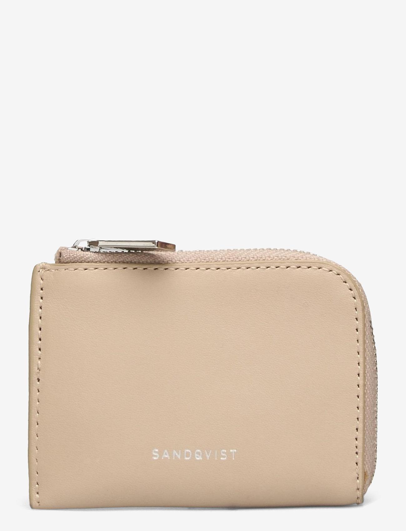 SANDQVIST - EBEN - etui na karty kredytowe - beige - 0