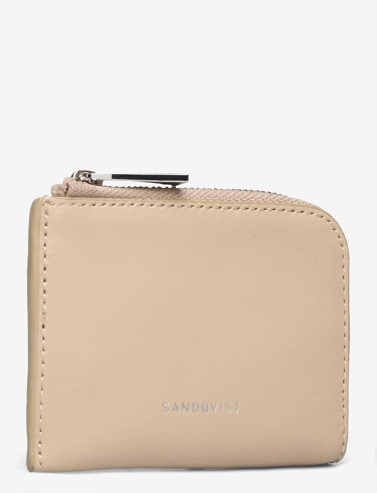 SANDQVIST - EBEN - etui na karty kredytowe - beige - 2