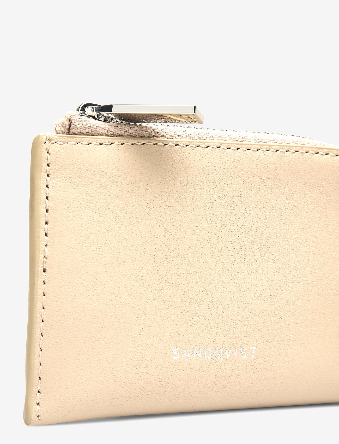 SANDQVIST - EBEN - etui na karty kredytowe - beige - 3