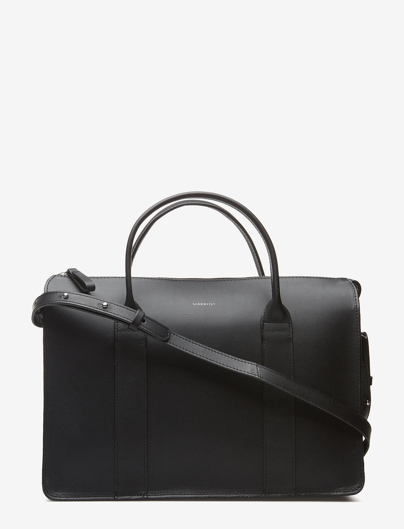 SANDQVIST - ALICE - laptop-väskor - black - 1