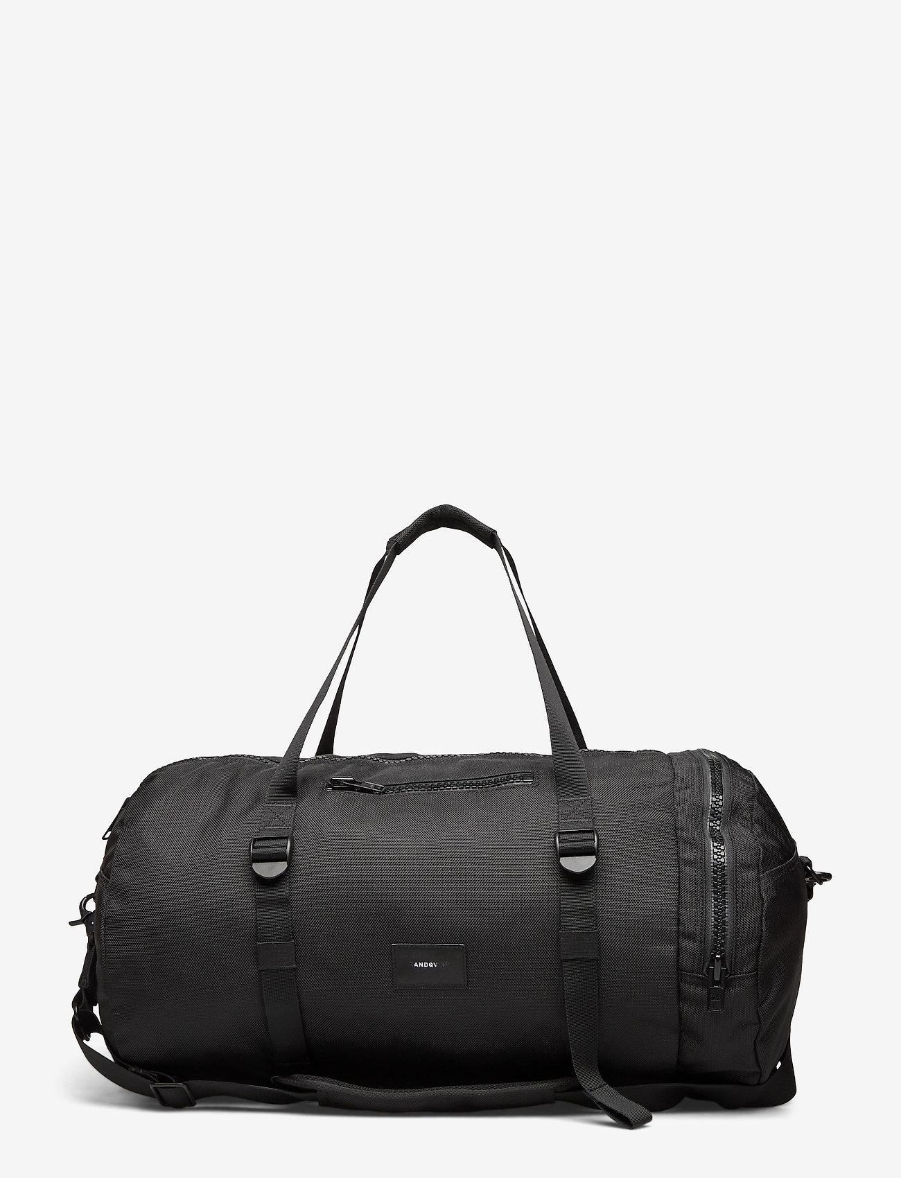 SANDQVIST - HANNES - weekend bags - black - 0