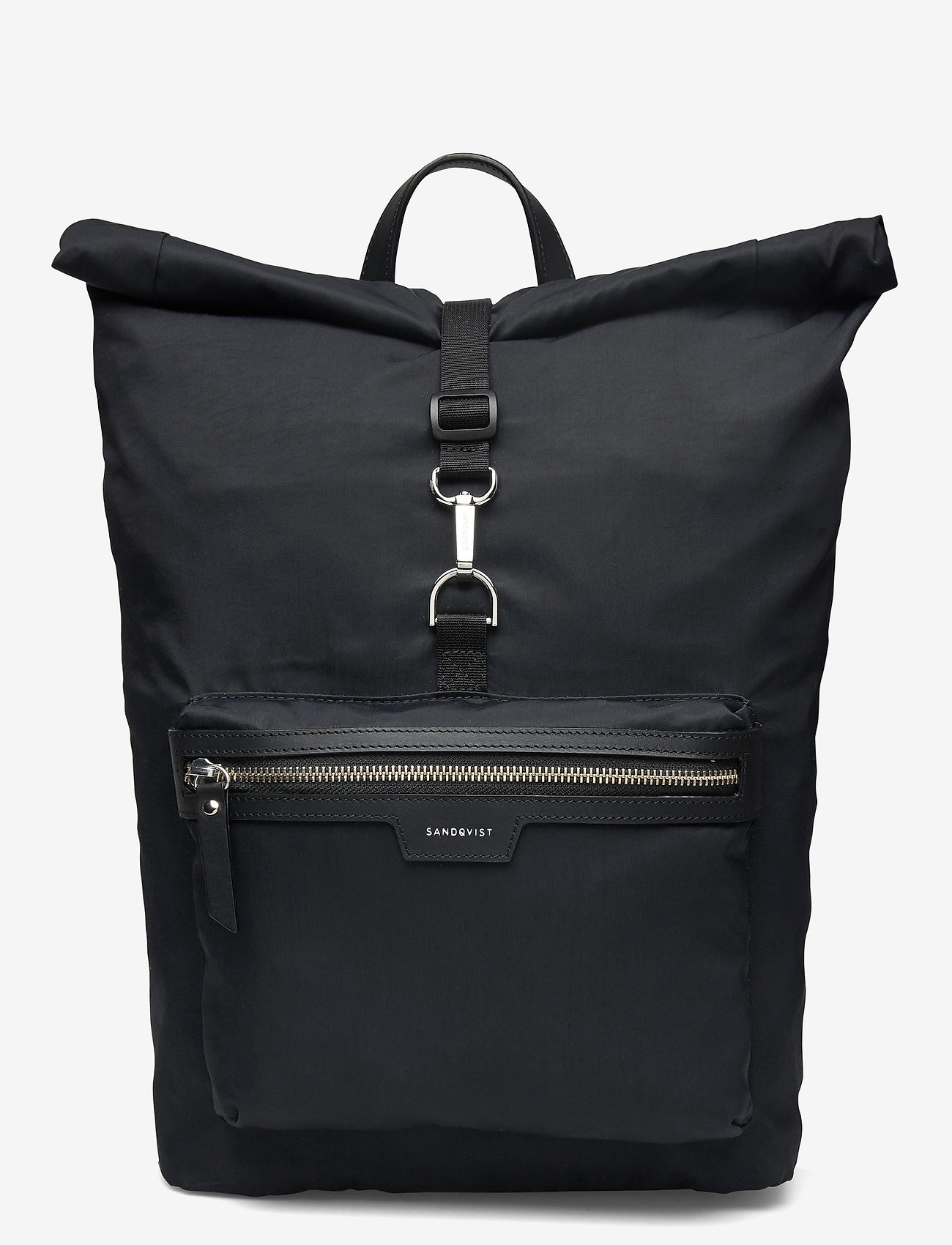 SANDQVIST - SIV - nieuwe mode - black with black leather - 1