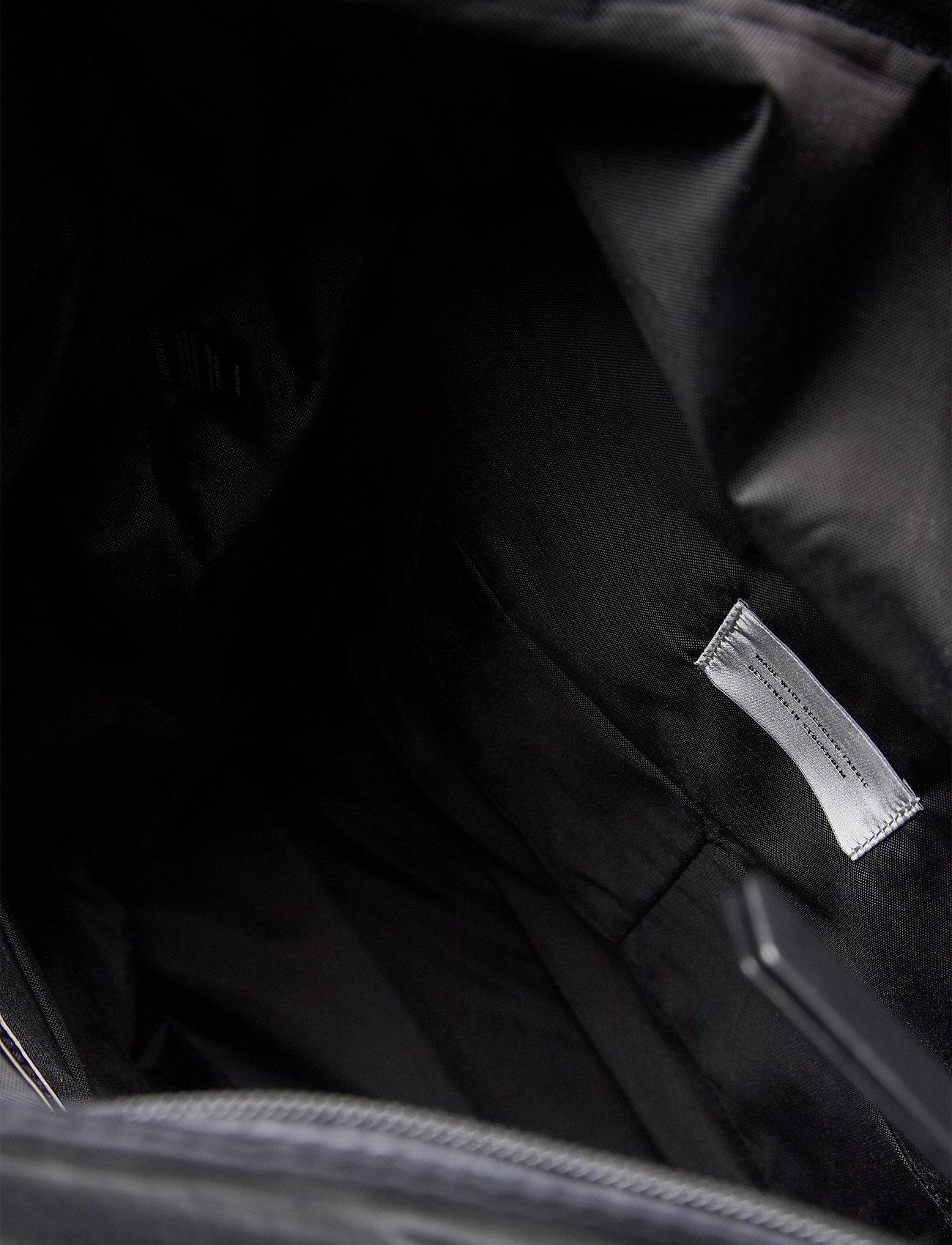 SANDQVIST - SIV - nieuwe mode - black with black leather - 6