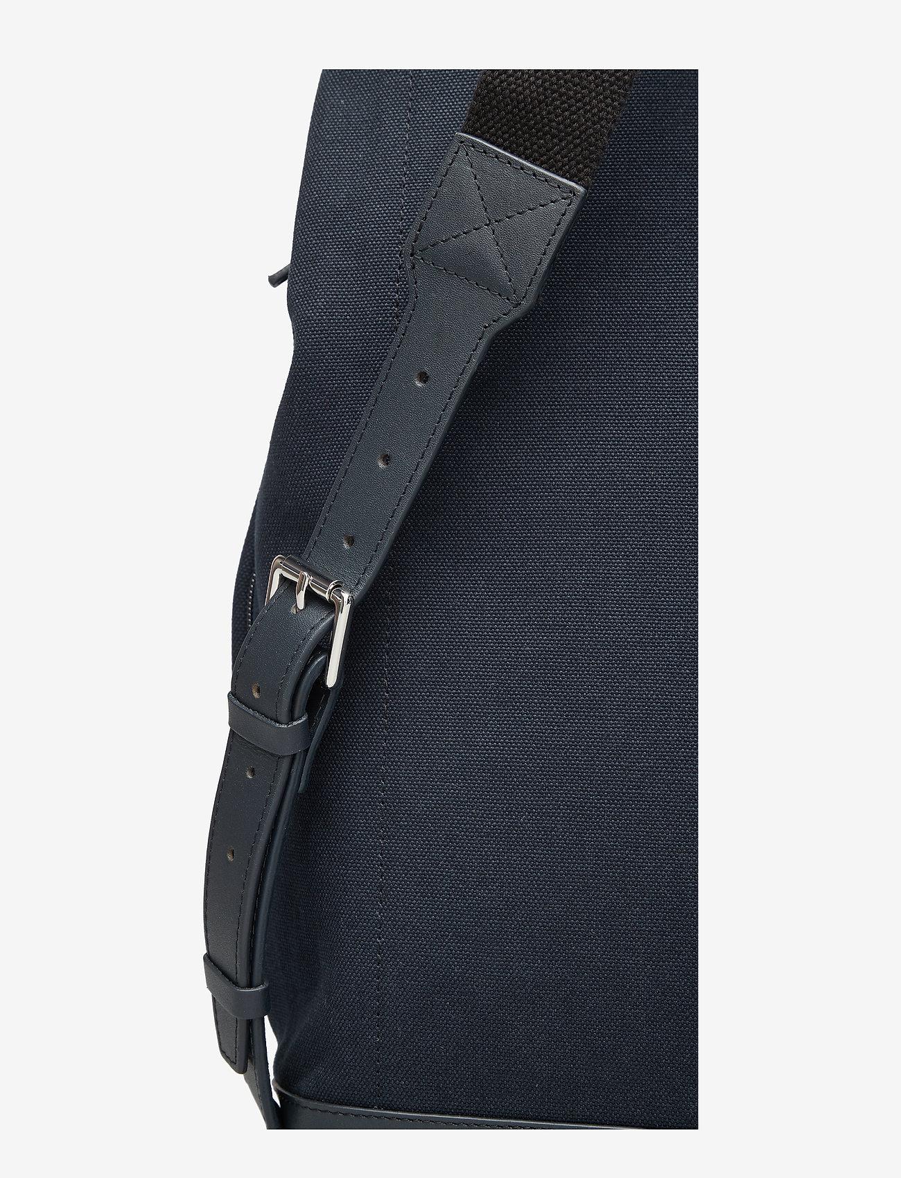 Sandqvist Hege - Sac Á Dos Navy With Leather