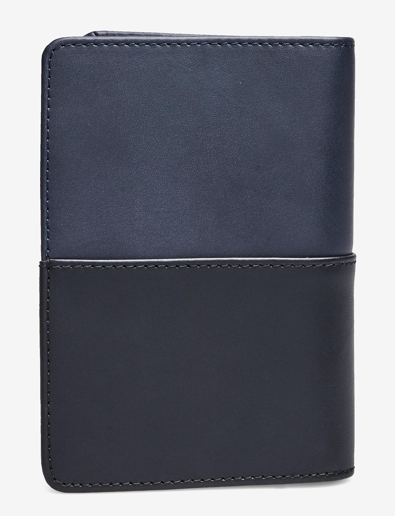 SANDQVIST - MALTE - wallets & cases - navy / black - 1