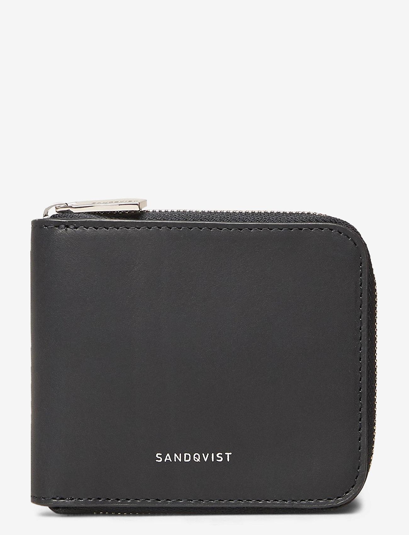 SANDQVIST TYKO - Wallets & cases NAVY WITH BLACK INTERIOR - Akcesoria