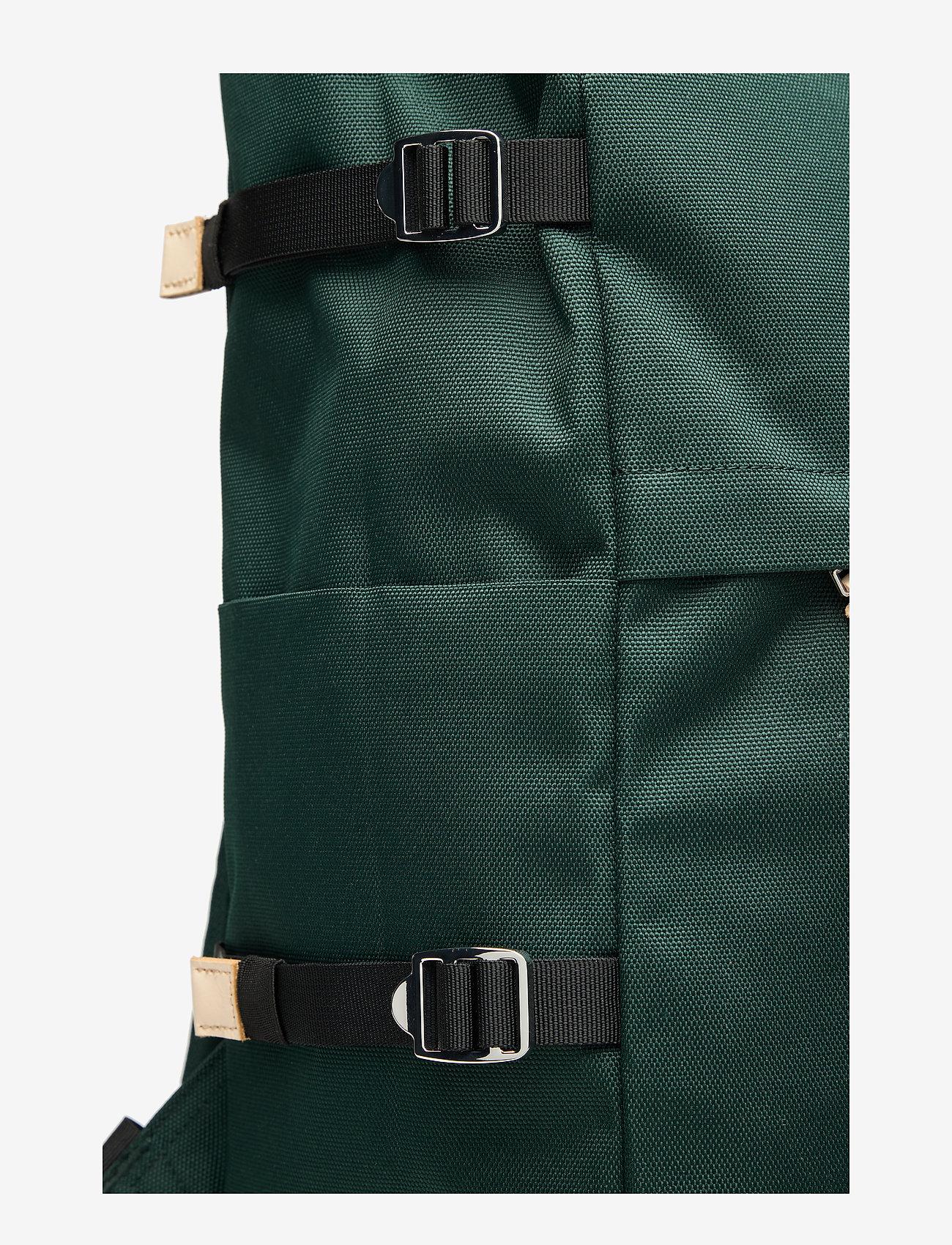 SANDQVIST - BERNT - nieuwe mode - dark green with natural leather - 4