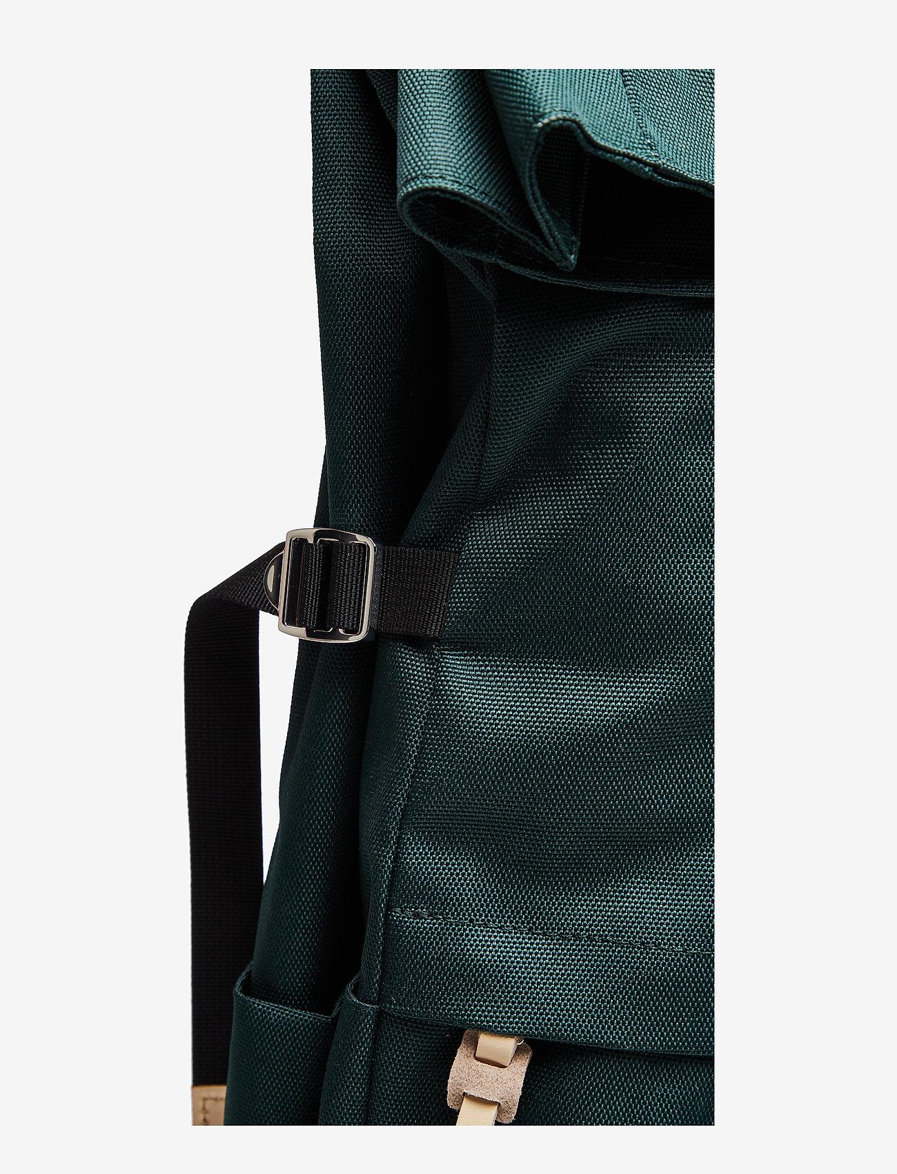 SANDQVIST - BERNT - nieuwe mode - dark green with natural leather - 6