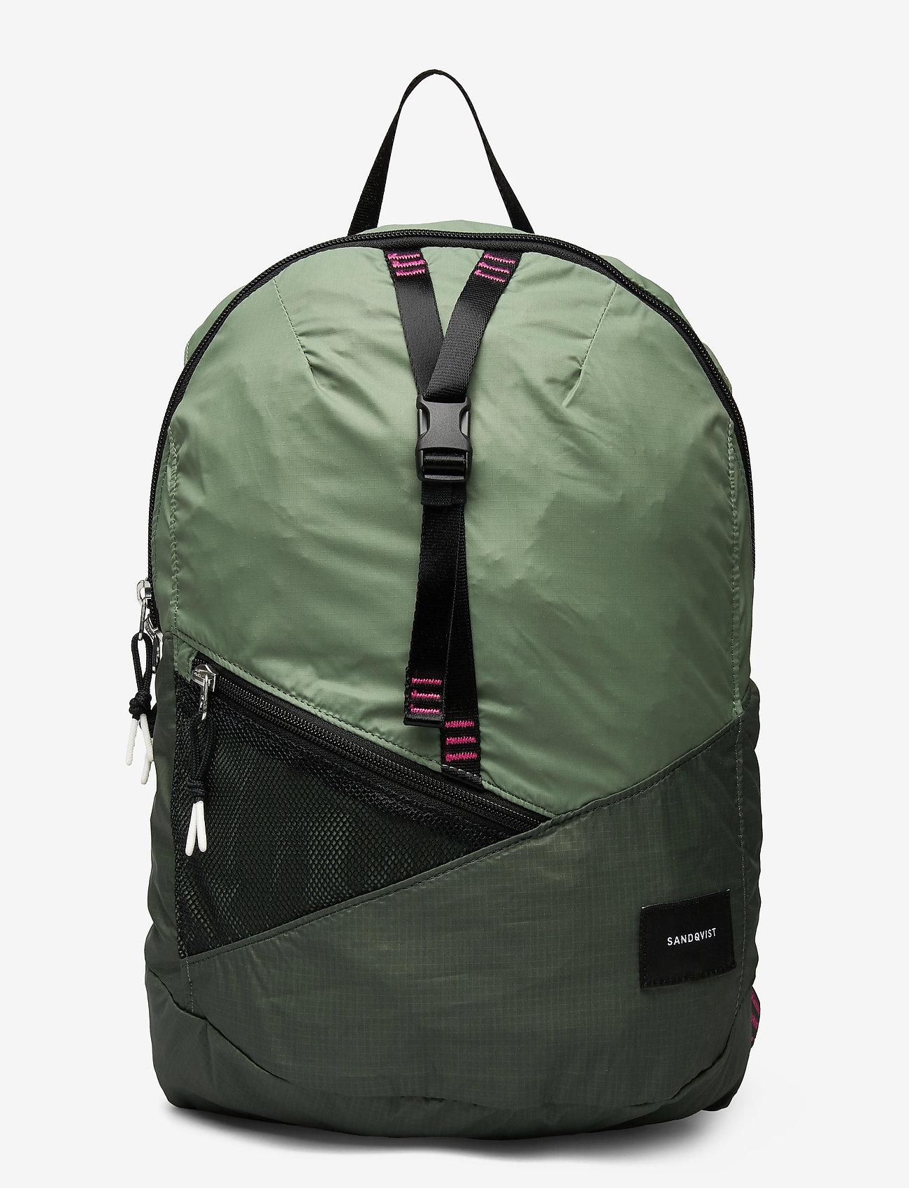 SANDQVIST - ERLAND LIGHTWEIGHT - bags - multi dusty green/night green - 0