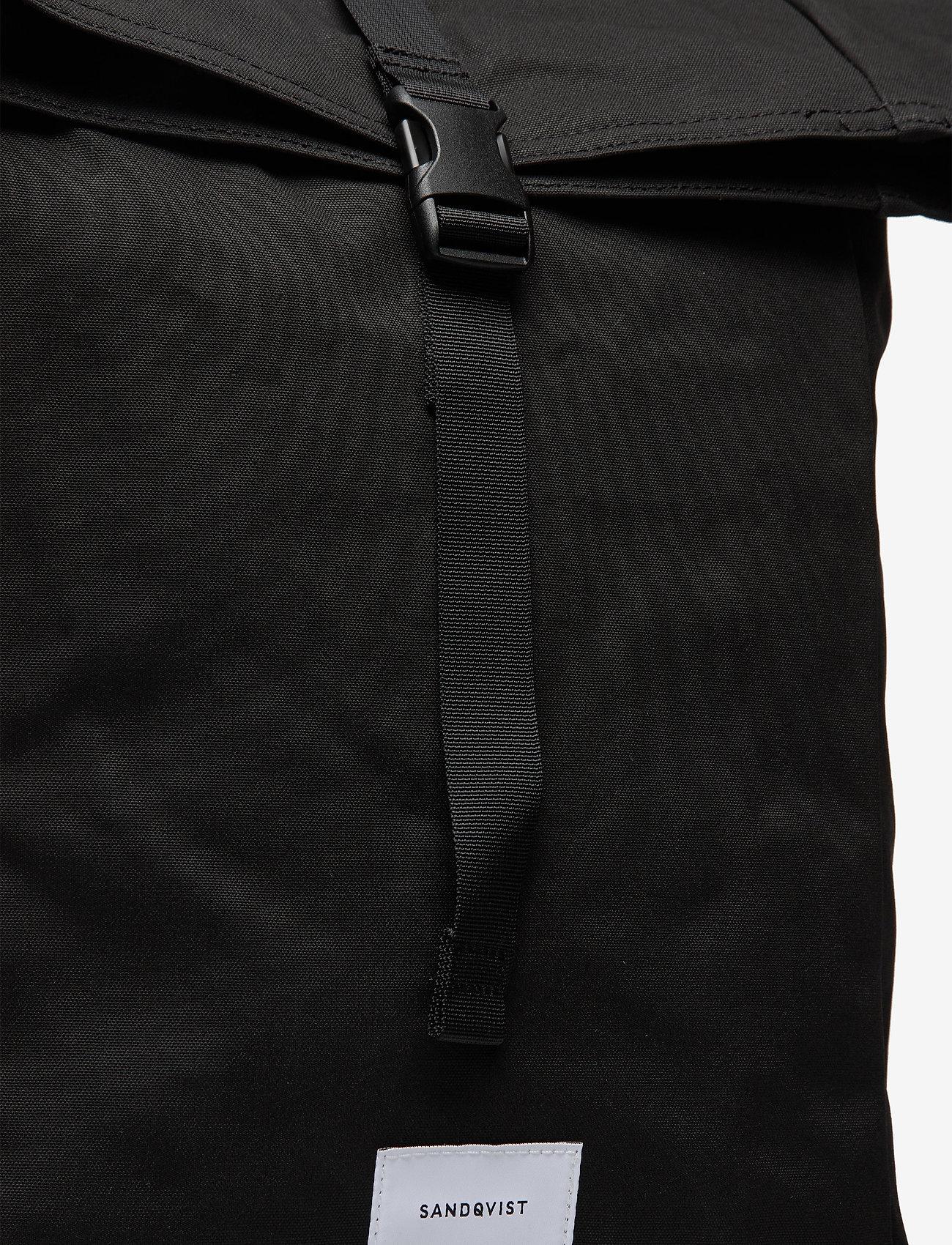 SANDQVIST - KAJ - bags - black with black webbing - 4