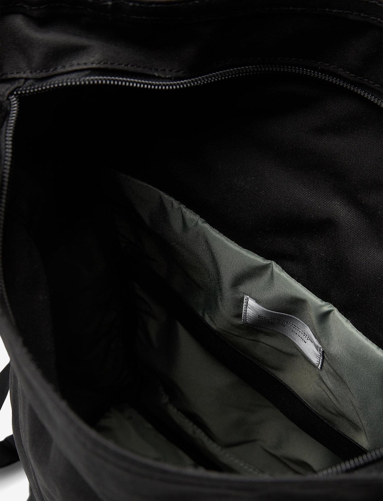 SANDQVIST - KAJ - bags - black with black webbing - 5