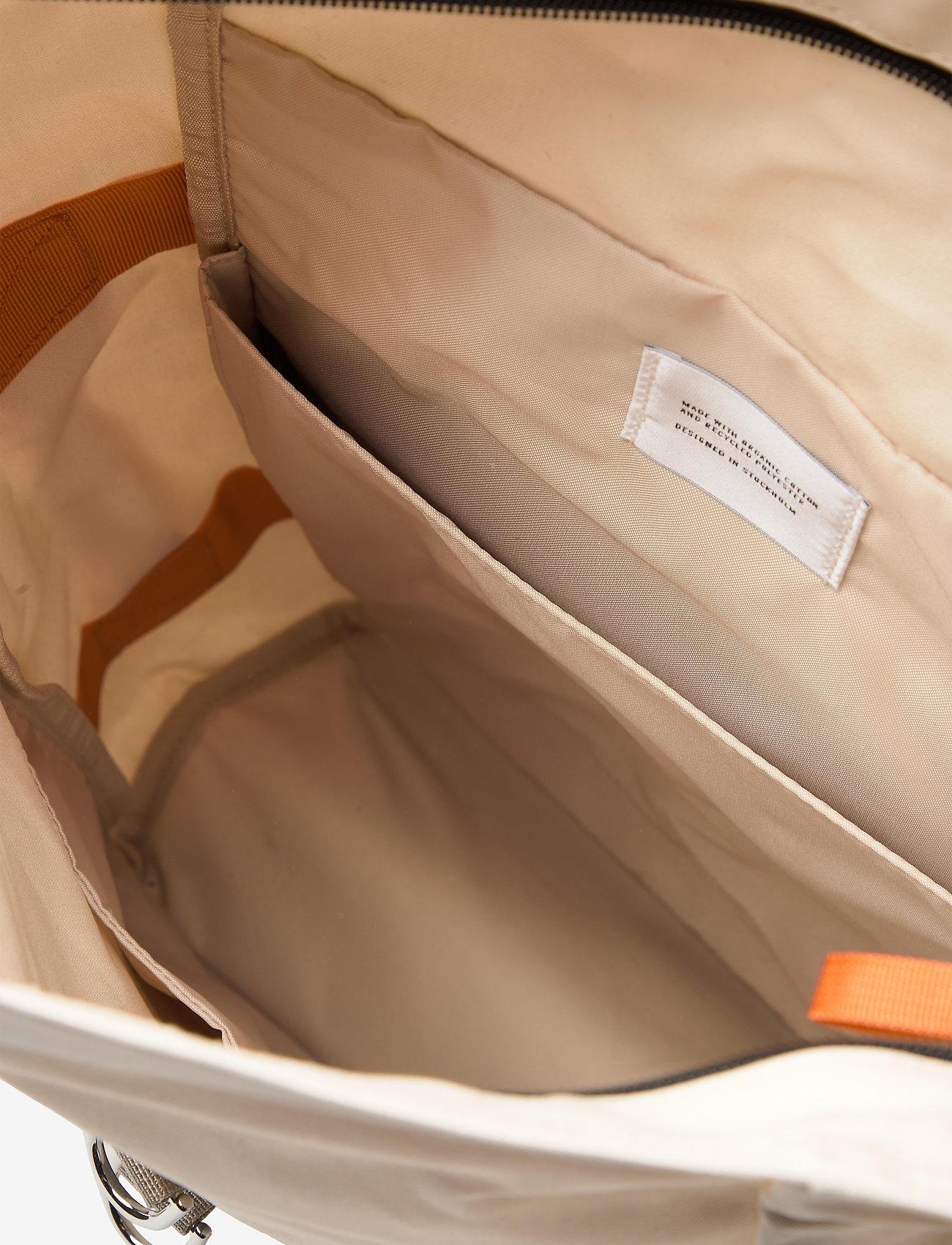 SANDQVIST - DANTE VEGAN - bags - sand with coating - 3