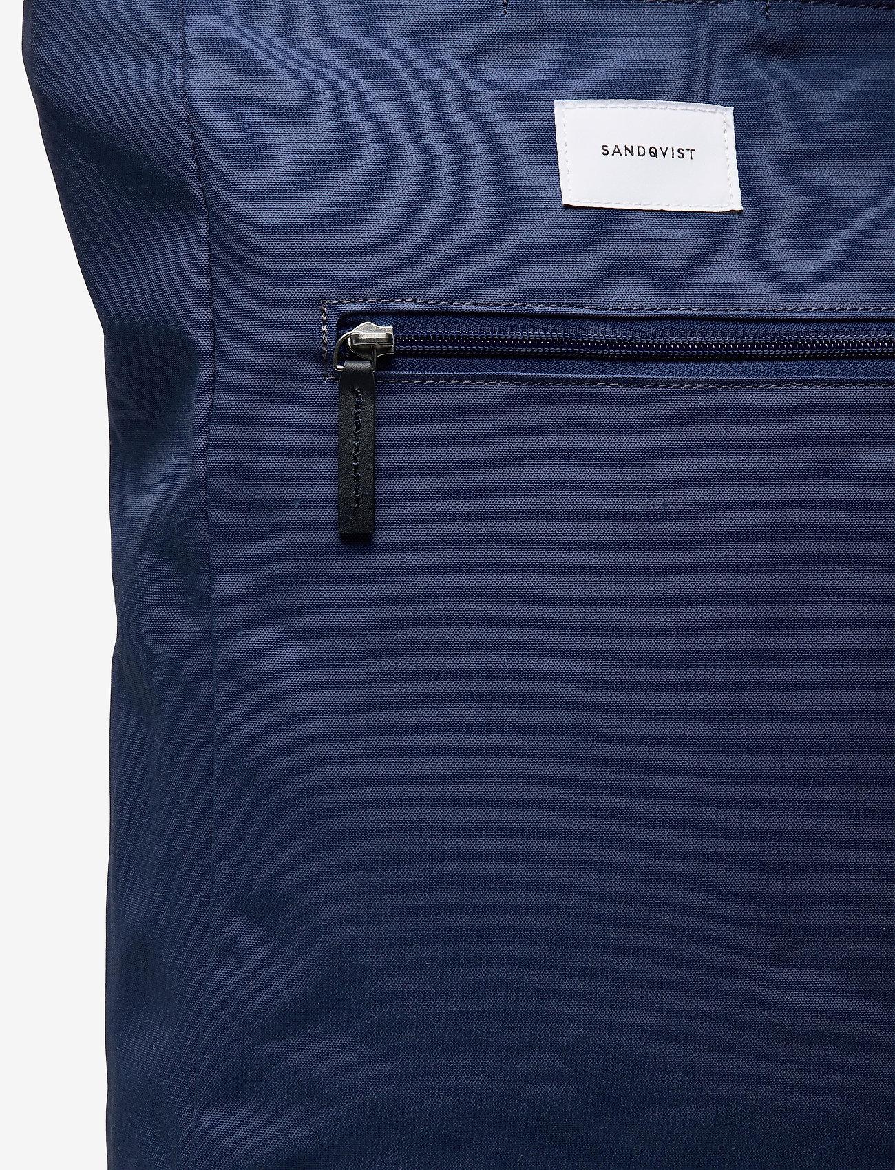 SANDQVIST - TONY - sacs a dos - blue with blue leather - 3