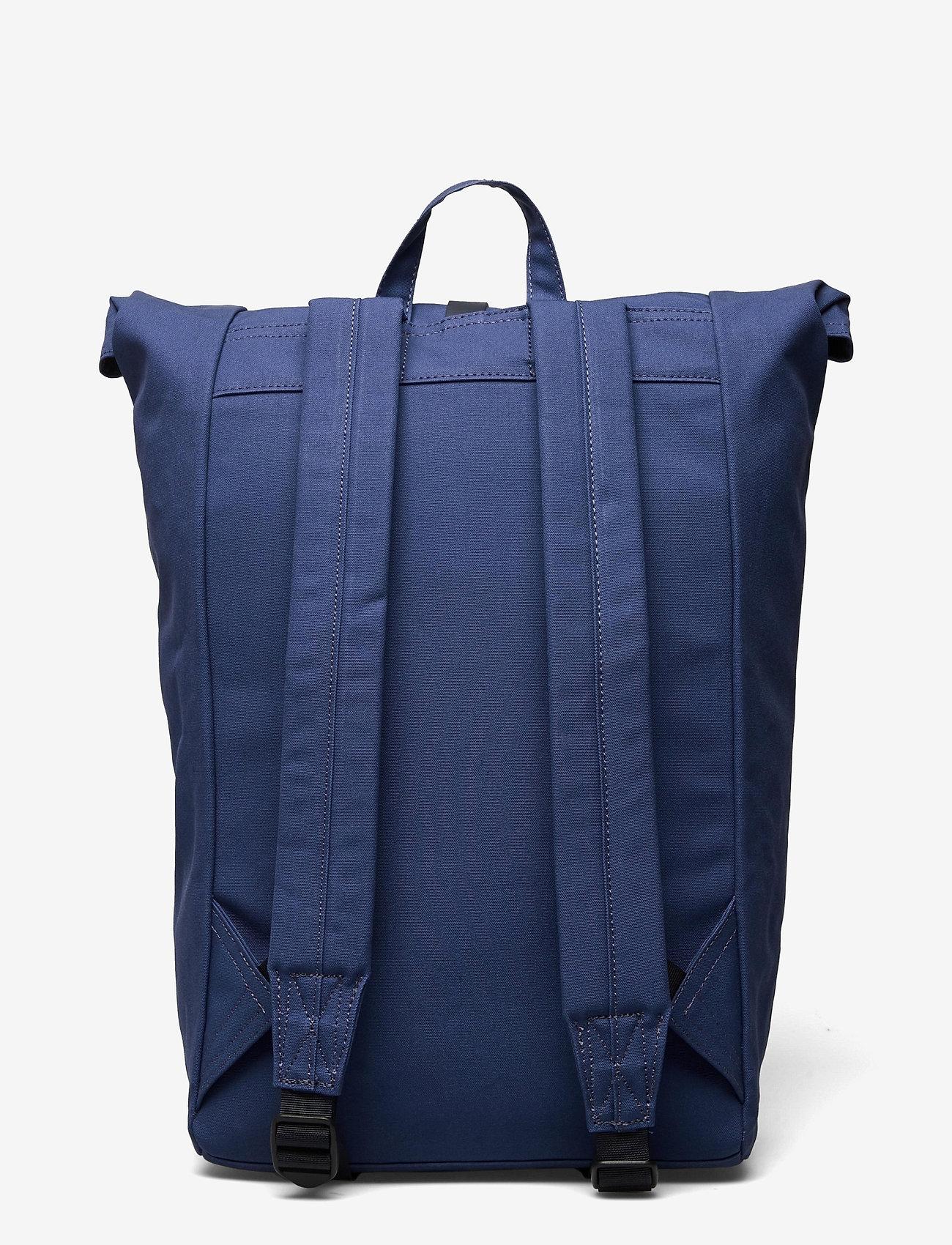 SANDQVIST - DANTE - sacs a dos - blue with blue leather - 1