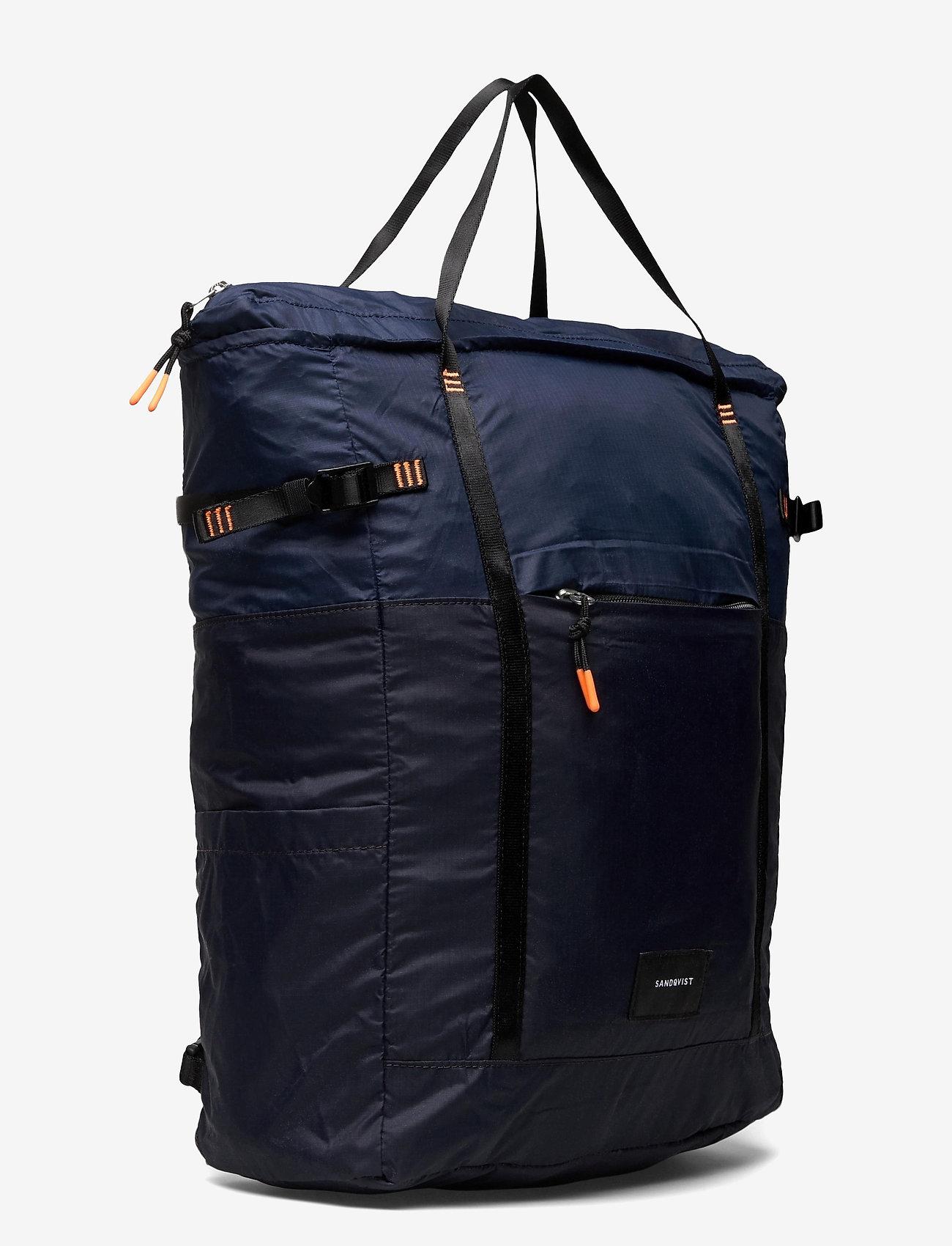SANDQVIST - ROGER LIGHTWEIGHT - tassen - multi navy blue/evening blue - 2