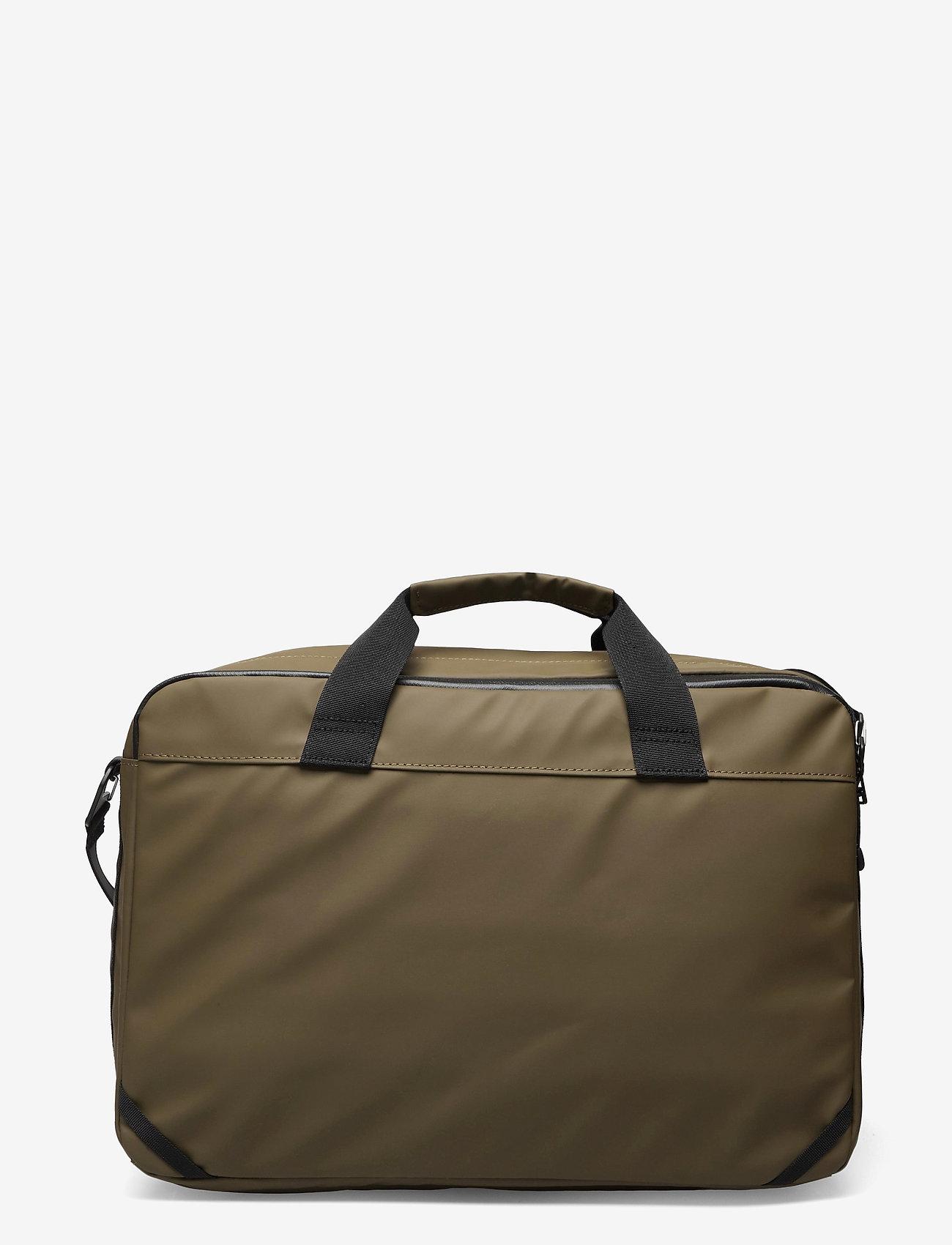 SANDQVIST - DAL - laptop-väskor - olive - 2