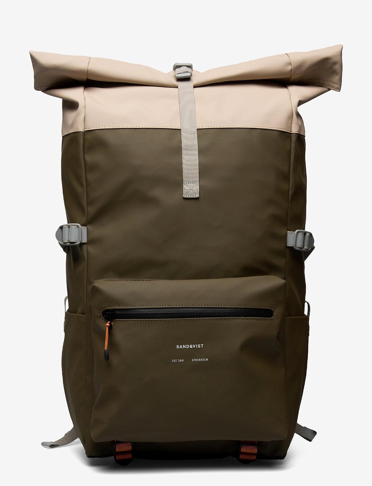 SANDQVIST - RUBEN 2.0 - väskor - multi olive/sand/black - 0