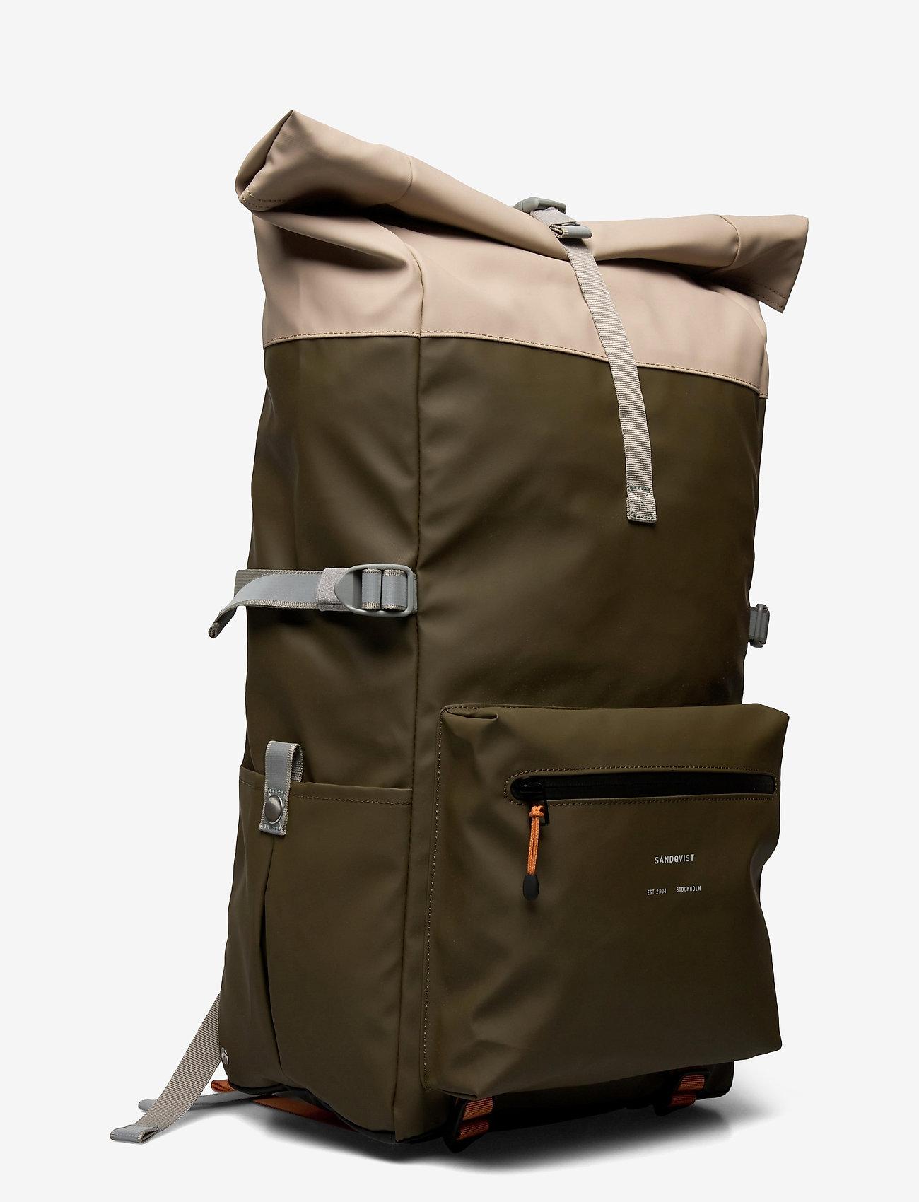 SANDQVIST - RUBEN 2.0 - väskor - multi olive/sand/black - 2