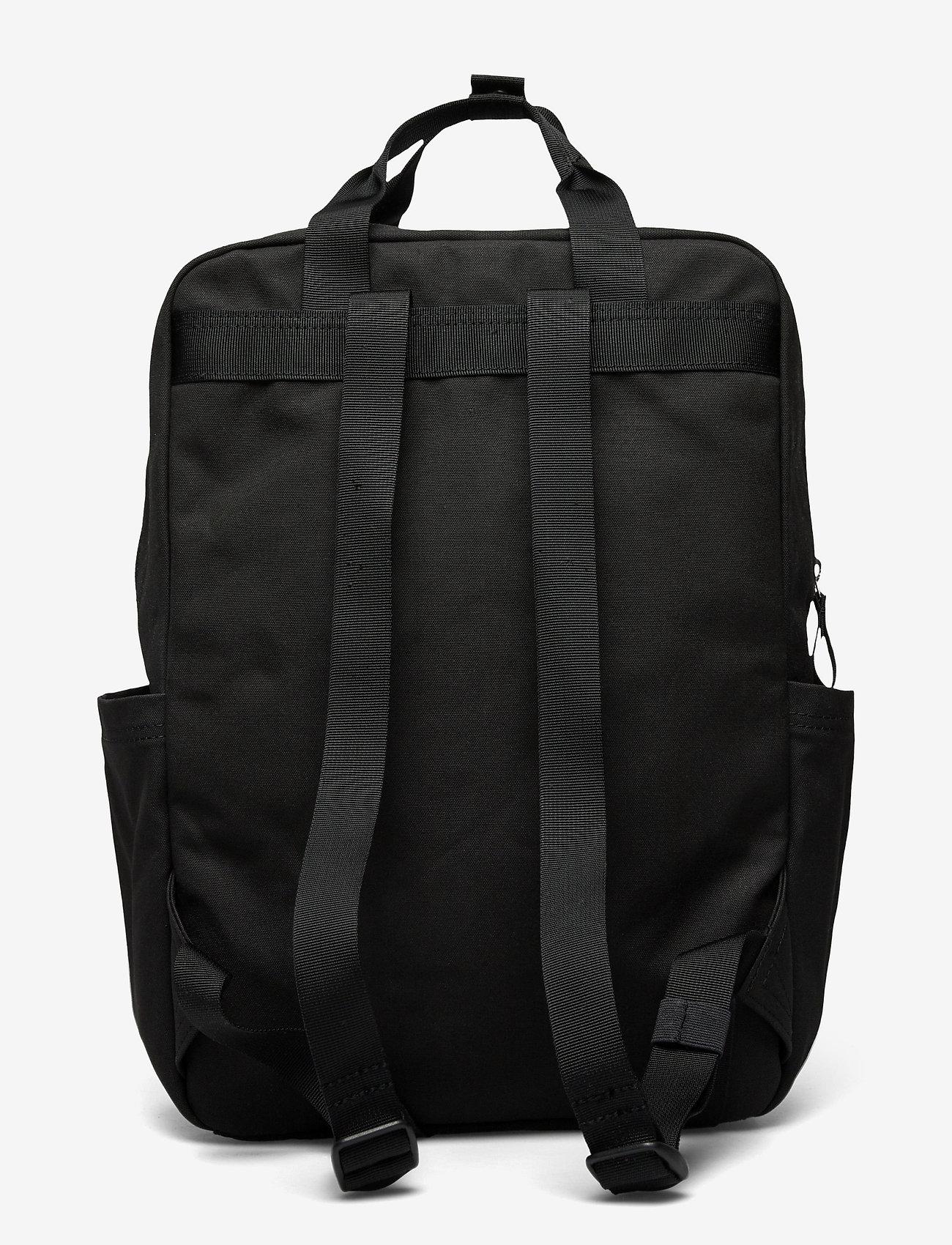SANDQVIST - KNUT - tassen - black with black webbing - 2