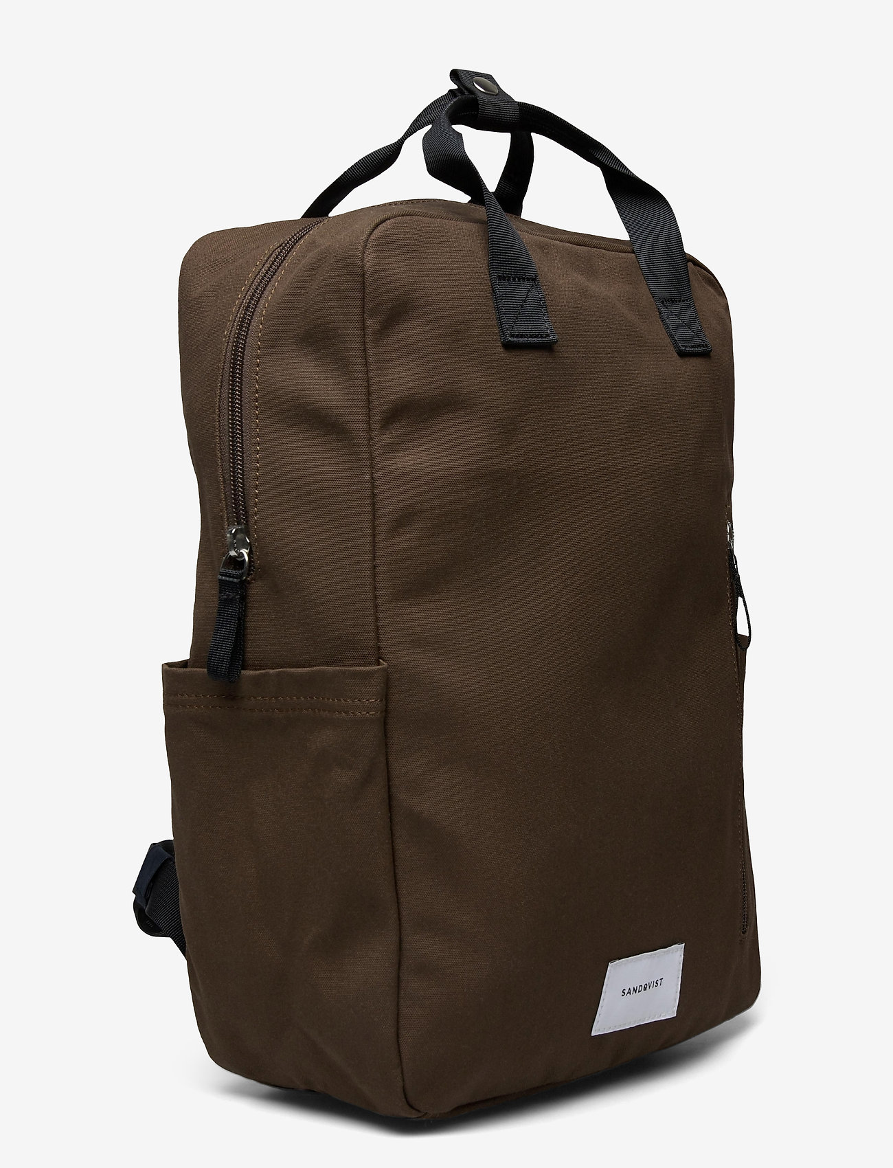 SANDQVIST - KNUT - sacs a dos - olive with navy webbing - 3