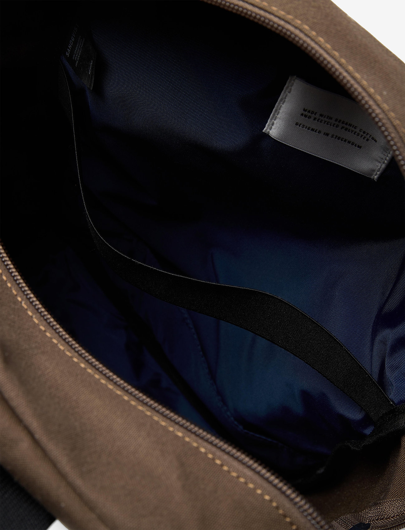 SANDQVIST - KNUT - sacs a dos - olive with navy webbing - 5
