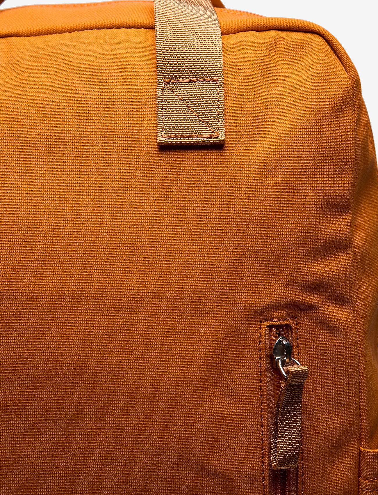 SANDQVIST - KNUT - tassen - burnt orange with orange webbing - 3