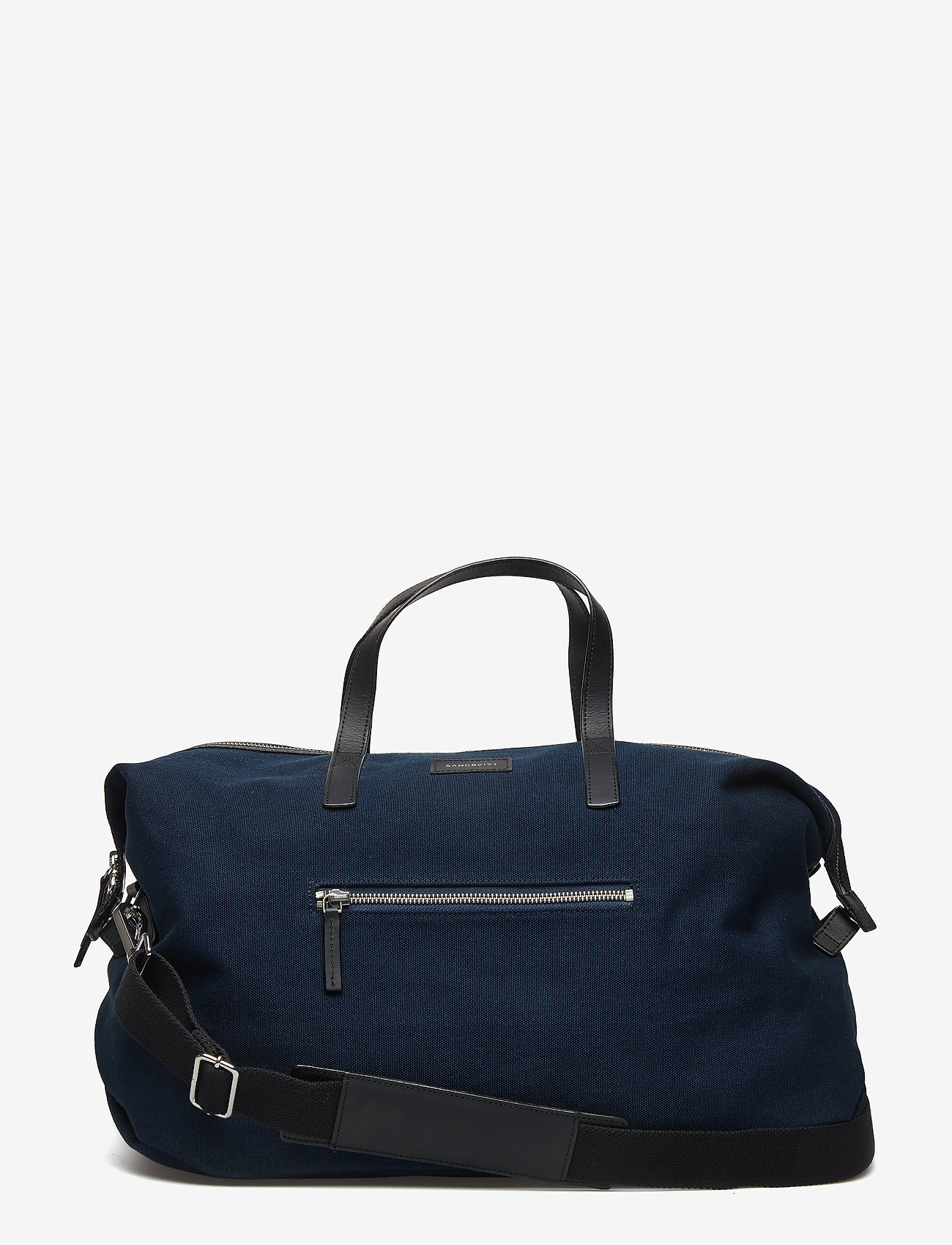 SANDQVIST - HOLLY - weekend and gym bags - blue with black leather