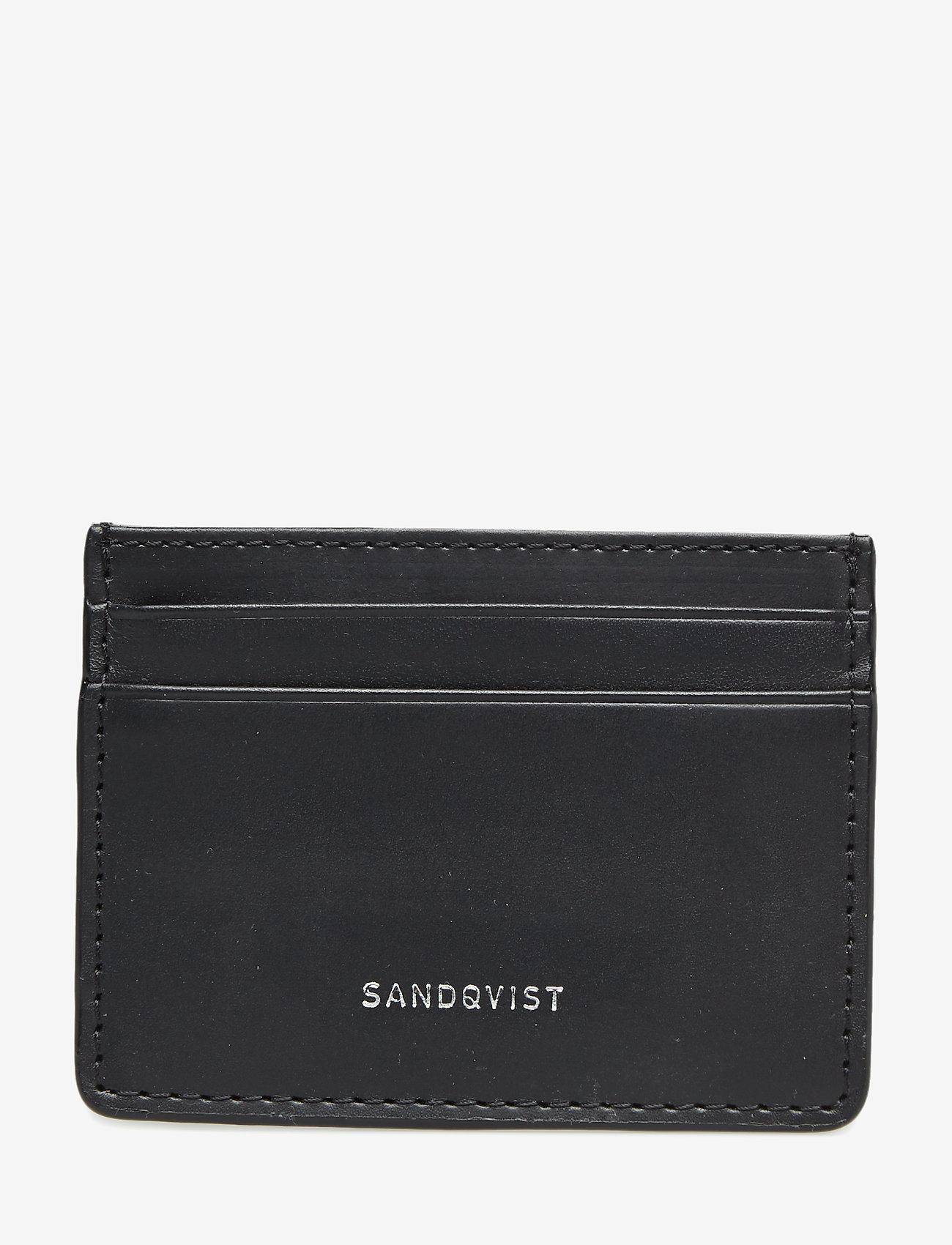 SANDQVIST - FRED - wallets & cases - black - 1