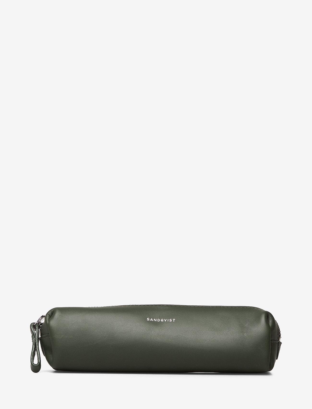 SANDQVIST - LEON - pencil cases - green - 0