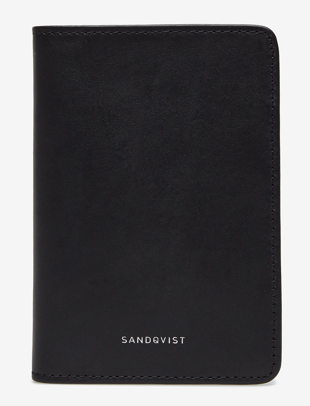 SANDQVIST - MALTE - lompakot - black - 0