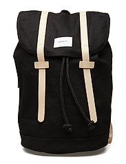STIG LARGE - BLACK W/ NATURAL LEATHER