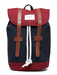STIG SMALL - MULTI BLUE/ BURGUNDY