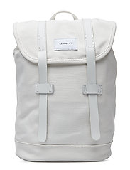 STIG SMALL - OFF WHITE WITH WHITE LEATHER