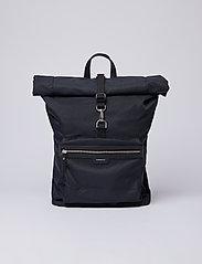 SANDQVIST - SIV - nieuwe mode - black with black leather - 0