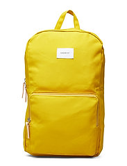 KIM - YELLOW WITH NATURAL LEATHER